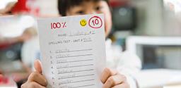 Bài kiểm tra giúp con đánh giá được năng lực bản thân, đưa ra hướng học tập phù hợp