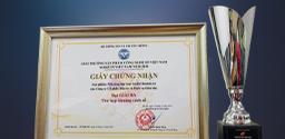 Giải ba - Hạng mục Thu hẹp khoảng cách số Giải thưởng make in Việt Nam 2020